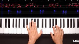 HELLO SHEET MUSIC ADELE PIANO COVER