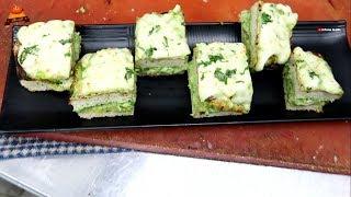 CHEESIEST VEGGIEST STRANGE PANINI | How to make Panini | Indian Street Food