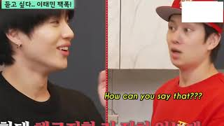 Taemin being unintentionally funny