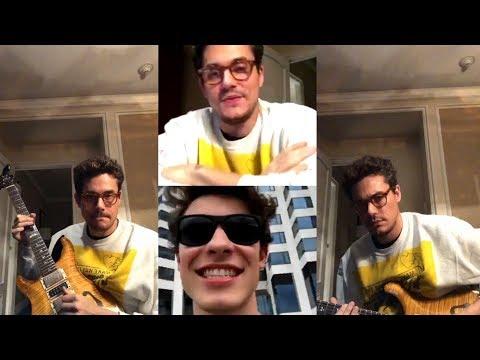 John Mayer | Instagram Live Stream | 3 December 2017 w/ Shawn Mendes