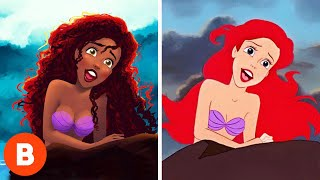 What These Disney Characters Were Supposed To Look Like