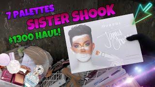 WE FOUND THE JAMES CHARLES PALETTE WHILE ULTA DUMPSTER DIVING?! SISTER SHOOK!