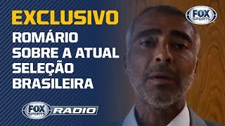 """ROMÁRIO: """"EMPATAR COM A VENEZUELA É UMA M..."""""""