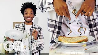 Jermaine Fowler's Brisket Sandwich Is Made from His Favorite Cow | GQ