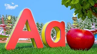 Christmas ABC Phonics -  Alphabet Song | Xmas Music & Kids Songs | Cartoons by Little Treehouse