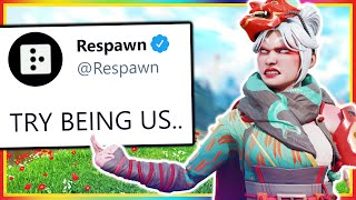 Respawn ASKS for EMPATHY with Apex New UPDATE.. (KINDA SAD)