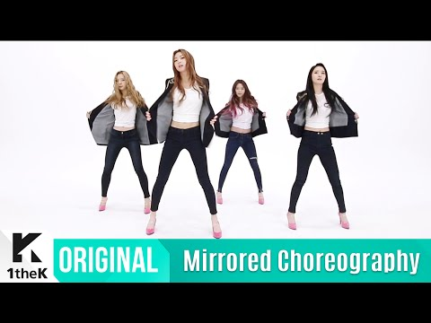 [Mirrored] Dalshabet(달샤벳) _ Someone like U(너 같은) Choreography(거울모드 안무영상)_1theK Dance Cover Contest