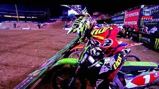 2013 AMA Supercross 450 Main RD 1 Anaheim