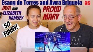 Esang De Torres as Jaya | Proud Mary | with Awra Briguela | YFSFK 2018 | REACTION