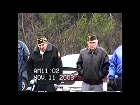 VFW 1418 Veterans Day  11-11-03