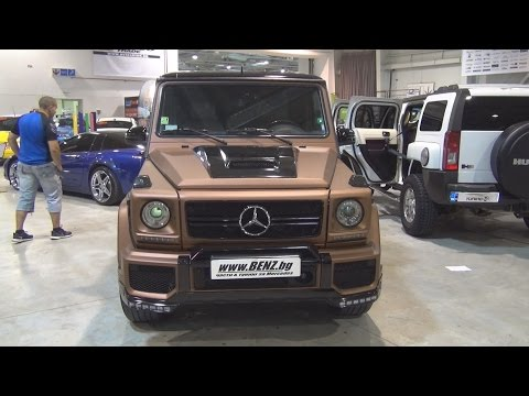 Mercedes-Benz G63 Tuned Exterior and Interior in 3D