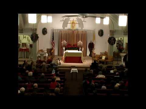 St. Ann's Christmas Eve Mass 12-24-07