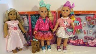 Jojo Siwa My Life As doll- 2 versions of same doll 2017 - 2018