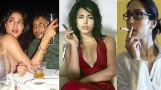 Pakistani Actress Who Smoke and Drink In Real Life   Mahira Khan   Veena Malik