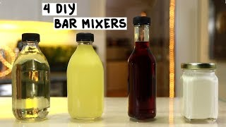 Four DIY Bar Mixers