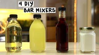 Four DIY Bar Mixers