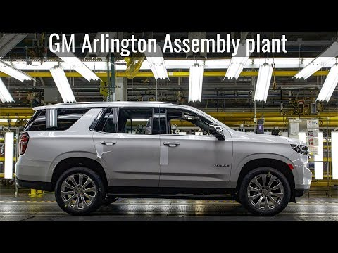 2021 Chevrolet Suburban And Tahoe Production