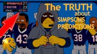 Simpsons Predict Super Bowl WINNERS NFL Predictions 2019 2020