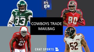 Cowboys Trade Rumors: Dak Prescott, OJ Howard, Patrick Peterson, Khalil Mack, Jamal Adams | Mailbag