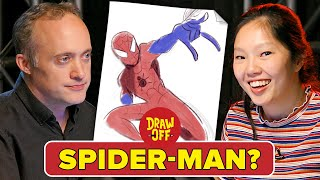 Animator Vs. Cartoonist Draw Marvel Characters From Memory •Draw Off