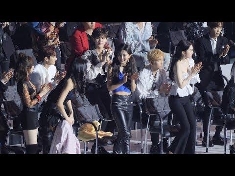 190424 레드벨벳 (Red Velvet) 월드 와이드 아이콘상 수상발표순간 및 웬디영어 소감 [4K] 직캠 Fancam (TMA) by Mera