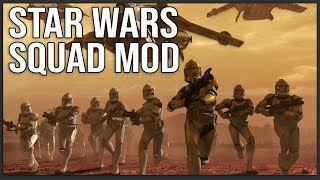 STAR WARS IS COMING TO SQUAD (Mod Showcase)