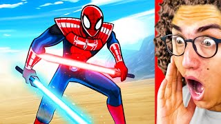 These Are The GREATEST SUPERHERO ANIMATIONS EVER MADE! ft. Spiderman & Star Wars