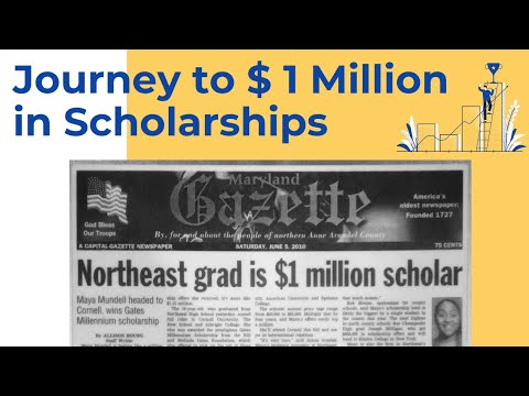 From Trash to $ 1 Million in Scholarships: My Story