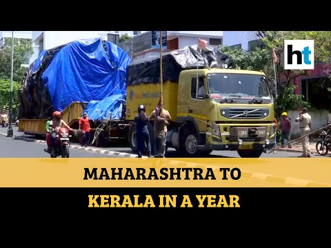 Watch why this truck took a year to reach Kerala from Maharashtra
