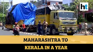 Watch why this truck took a year to reach Kerala from Maha..