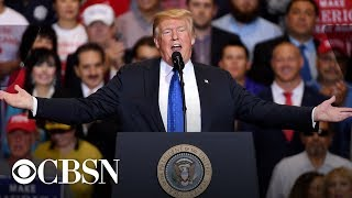 Watch Live: President Donald Trump hosts 'MAGA' rally tonight in Columbia, Missouri | November 1