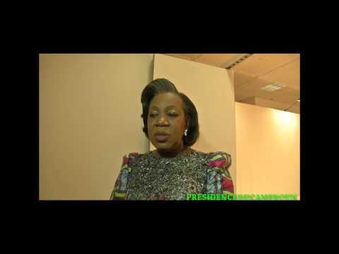 Audience du Président Paul BIYA avec Mme Catherine Samba-Panza, Présidente de transition en Centrafrique