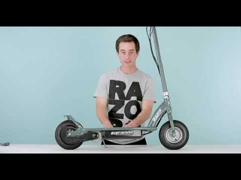 video Razor E300 Electric Scooter