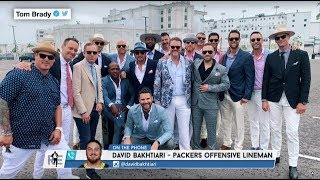 Packers' OL David Bakhtiari on Kentucky Derby Partying with Tom Brady's Crew | The Rich Eisen Show