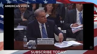 Rep. Jim Jordan Questions I.G. Horowitz | House Judiciary Committee Hearing