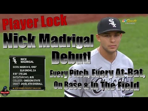 Nick Madrigal Major League Debut - Every Pitch, Every Play 7/31/20