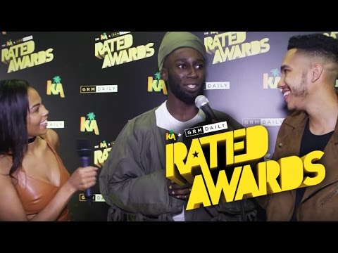 Kojey Radical on fashion statements & supporting each other at Rated Awards