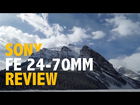 Sony a7S APS-C Crop Mode & Vario-Tessar T* FE 24-70mm f/4 Review