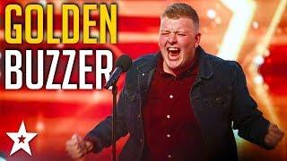 Nervous Welsh Opera Singer Gets GOLDEN BUZZER! | Britain's Got Talent | Got Talent Global