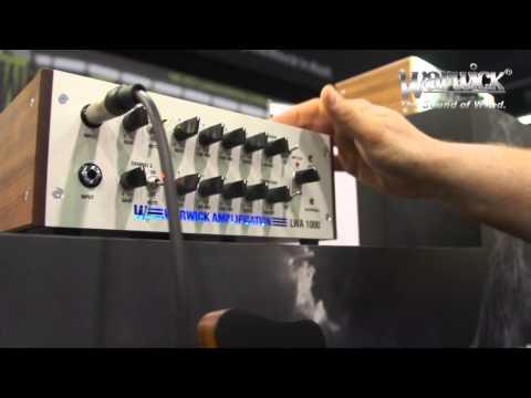 Warwick @ NAMM 2013 - Streamer Stage2 and LWA1000 presented by Ove Bosch