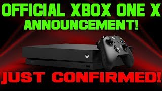 JUST CONFIRMED! The Xbox One X Just Got A Giant Announcement! It's FINALLY Happening!