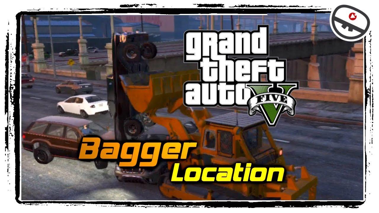 How to GTA V - Bagger Location! [Vluppey baggert] - YouTube
