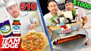 Chef w/ $10 vs Noobz with $1000 Pizza Challenge!!