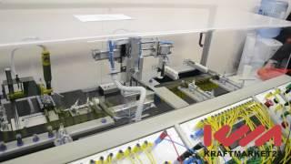 Пневмоавтоматика Camozzi автоматизация производственной линии