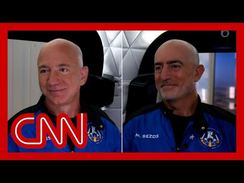 Jeff Bezos reveals what the crew talked about before liftoff