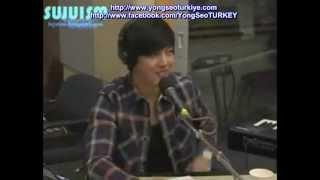 [13.04.2012]YongHwa'nın,Radyo Programında SeoHyun Açıklaması! [Türkçe Altyazılı]