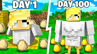 I Survived 100 Days as a Baby Chicken