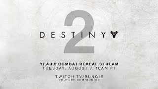 Bungie livestream will reveal combat changes coming with Destiny 2: Forsaken