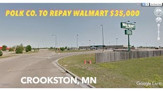 Polk County Agrees To Repay Walmart $35,000