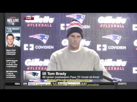 Deflategate -  Tom Brady's emotions analyzed